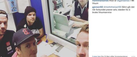 Halvet laget igjen i Russland etter visumtr�bbel: - Det er totalt kaos