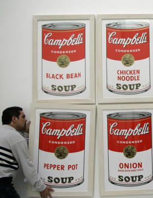 Har noen sett Warhols suppebokser?