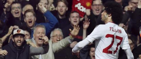Fellaini og Rashford sendte United ett skritt n�rmere FA-cupfinale