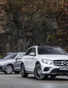 BMW X3 har vært vår favoritt-SUV. Så kom Mercedes GLC...