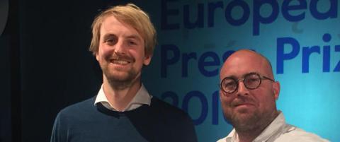 Dagbladet vant prestisjefylt europeisk pris for �V�tdraktmysteriet�