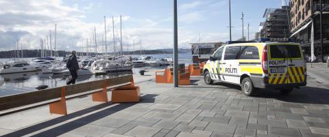 Mann funnet livl�s ved Aker Brygge