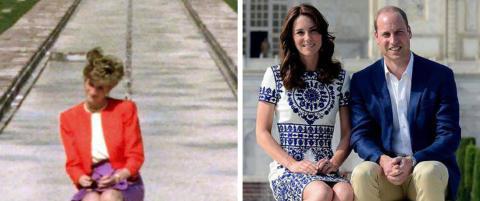 William og Kate gjenskapte ikonisk Diana-bilde