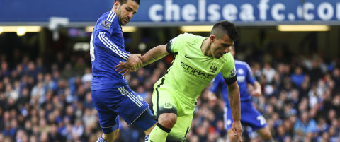 Chelsea maktet ikke � gj�re noe med ustoppelig Ag�ero