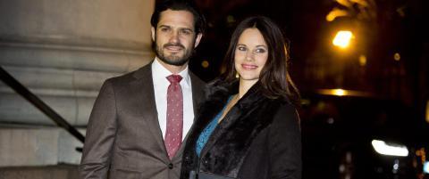 Prinsesse Sofia og prins Carl Philip er blitt foreldre