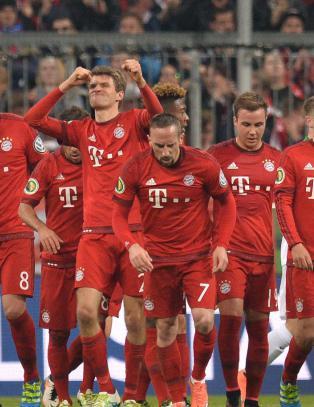 Suverene Bayern M�nchen i rute til trippelen