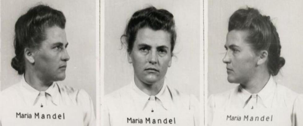 Fanger som kikket opp p� den unge SS-kvinnen ble aldri sett igjen