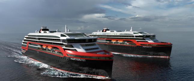 Her er de nye Hurtigrutene