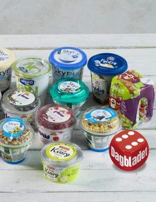 Smakstest: De nye yoghurtene