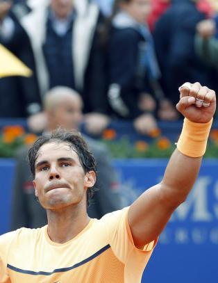 Nadal vil tangere grusrekord i Barcelona
