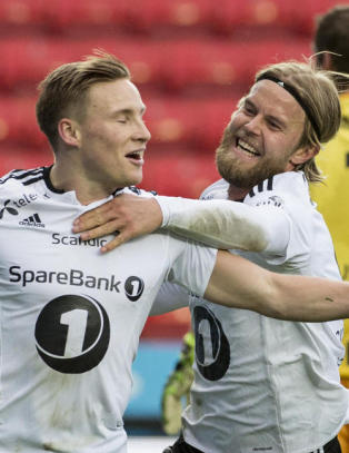 Rosenborg-toget dundrer videre