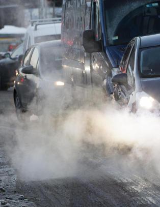 Forurensingen i Oslo stiger fremdeles