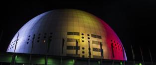 Eurovision-scenen f�r Globen til � synke