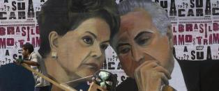 Blir president Dilma felt, tar �butleren fra en skrekkfilm� over