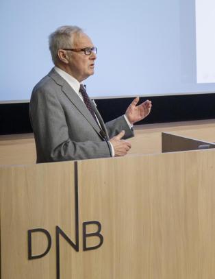 Mannen som eier �n aksje i DNB og vil kaste styrelederen: - I dag ga jeg ikke Rune Bjerke en klem