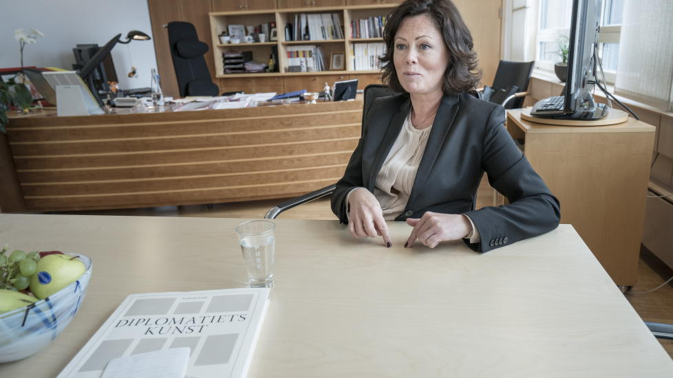 NEW RULES: When Norway ratify Hague '96 -Convention July 1, will CPS will be required to investigate whether children can be placed with relatives abroad.  - There will be a possibility that the family abroad assume care, says Minister of Children and Equality Minister Solveig Horne.  Photo: Øistein Norum Monsen / Dagbladet