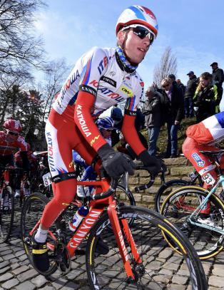 Bystr�m veltet ut av Tour of Yorkshire