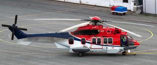 Ulykkeshelikopteret har f�tt utsatt service to ganger