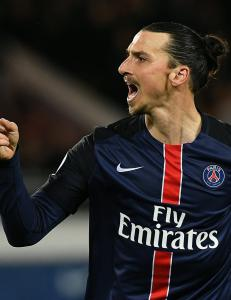Zlatan i scoringsform da PSG knuste Rennes