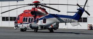 Helikopterselskap i �konomiske vansker