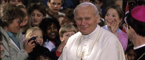 Johannes Paul II f�r sin egen musikal