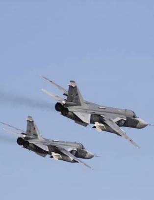 Amerikansk fly avsk�ret av russisk kampfly over �stersj�en