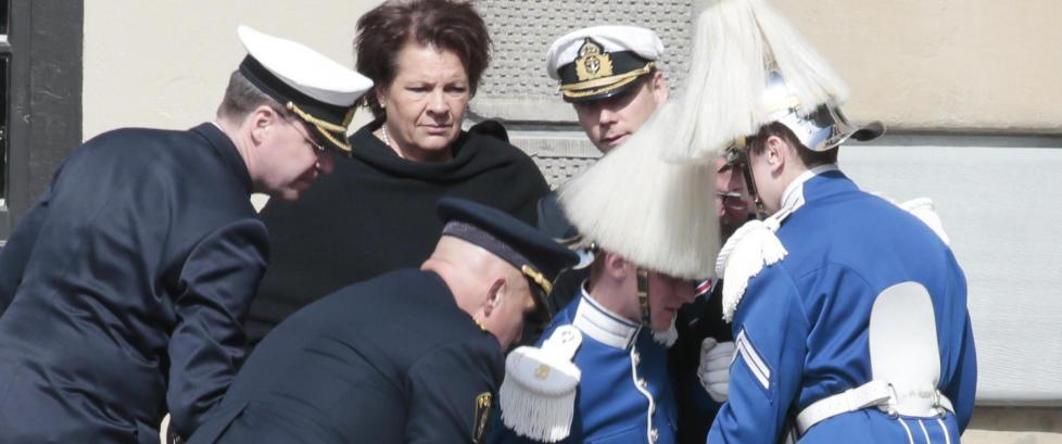 Her g�r alt galt for Carl Gustafs gardist