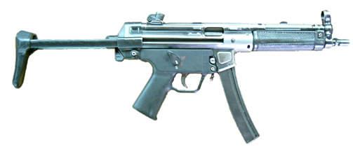 POLITIV�PEN: MP5 regnes som et s�rdeles n�yaktig v�pen, som det ogs� er lett � l�re seg � mestre. Foto: Wikimedia Commons