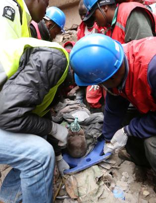 Rop om hjelp fra bygningsmasser i Kenya