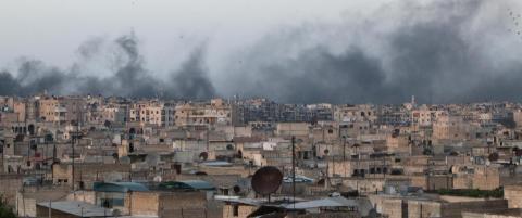 Nytt bomberegn over Aleppo