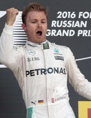 Rosberg vant for fjerde gang p� rad