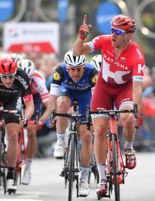 Kristoff vant i Frankfurt