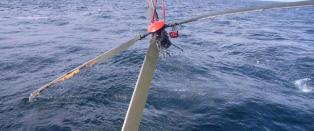 I 2009 l�snet denne rotoren fra et Super Puma-helikopter i Nordsj�en. 16 d�de