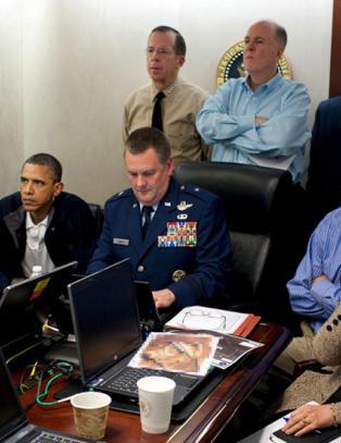 Twitter-brukere håner CIA for markeringen av drapet på Osama bin Laden