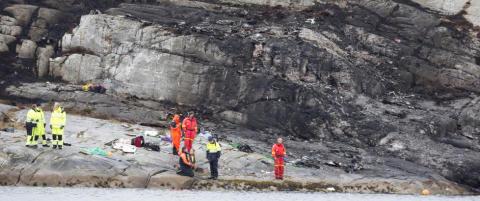 Alle identifisert etter helikopterulykken