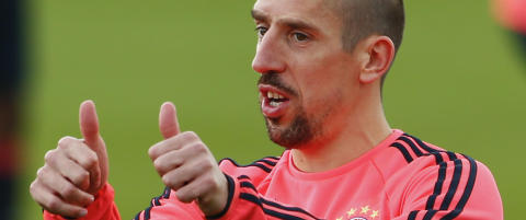Ribery friskmelder seg til CL-semifinalen