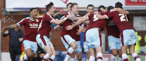 Burnley klar for Premier League