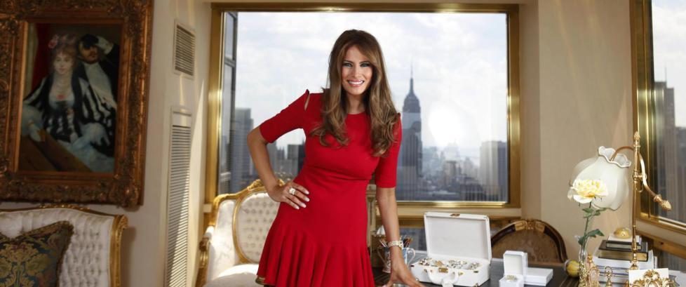 Melania Trump - fra enkle k�r i �st-Europa til USAs nye f�rstedame?