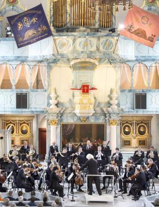 R�ros visste � ta vel imot de celebre gjestene i Berliner Philharmoniker