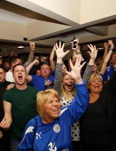 Det er en av tidenes st�rste sensasjoner: Leicester har vunnet Premier League