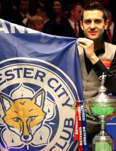 Full pott for Leicester i kveld, fikk verdensmesteren i snooker ogs�