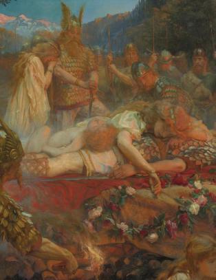Edda-dikt som katastrofe- varsel for v�r tid