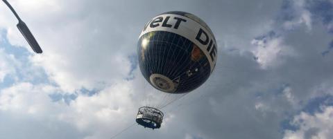Norske studenter opplevde ballongmareritt  i Berlin