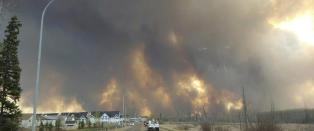 Over 80.000 evakuert fra skogbrann i Canada