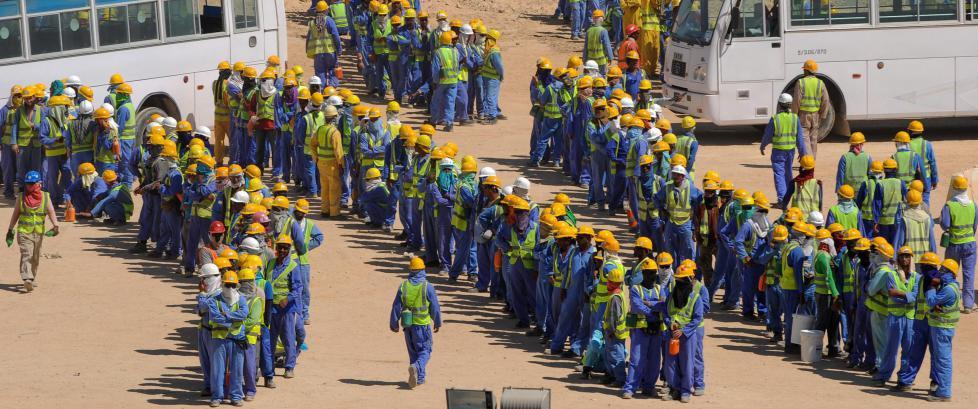 VM-skandalen: F�rst m� slavearbeidet stoppes