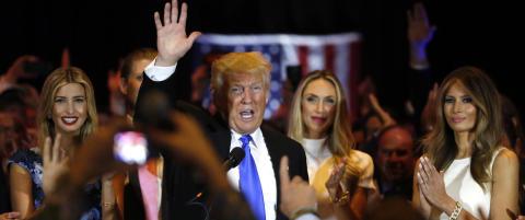 N� kan Trump spasere til nominasjonen. - Et ekstraordin�rt �yeblikk i amerikansk historie