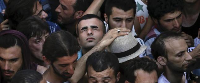 Nytt forslag: EU-land som nekter � ta imot flyktninger, m� betale 250 000 euro ... per flyktning