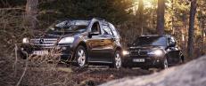Vurderer du � kj�pe �SUV-kongene� ML eller X5 brukt? Vi har testet dem mot hverandre
