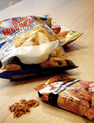 Spr�stekt l�k: Mer fett og kalorier enn potetgull
