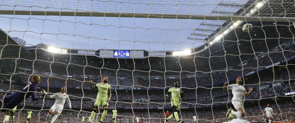 Her s�rger Gareth Bale for et helspansk byderby i Champions League-finalen